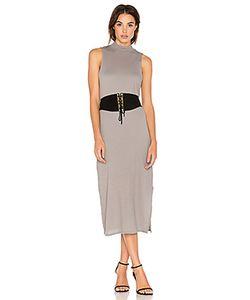 Stateside | Crepe Knit Midi Dress