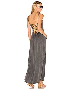 Chaser | Criss Cross Tie Back Maxi Dress