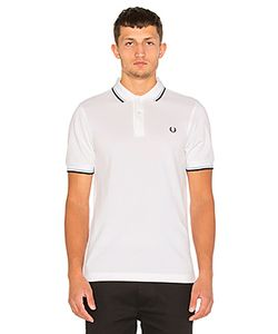 Fred Perry | Приталеное Поло Twin Tipped