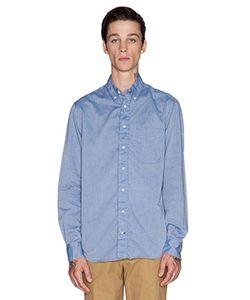 Gitman Vintage | Рубашка Из Шамбре С Застёжкой На Пуговицы