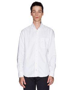 Gitman Vintage | Шерстяная Рубашка С Застёжкой На Пуговицы