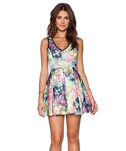 Lucca Couture | Приталенное И Расклешенное Платье
