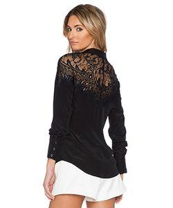 SAU | Шелковая Рубашка На Пуговицах Hannah