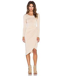 Donna Mizani | Платье С Длинным Рукавом Knot Front