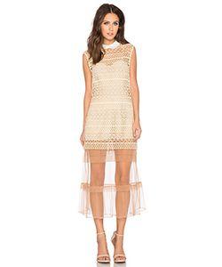 SELF-PORTRAIT | Цельнокроеное Платье С Подкладкой