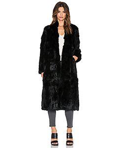 Adrienne Landau | Пальто Из Меха Кролика