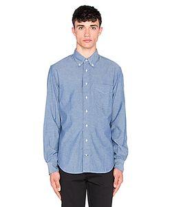 Gitman Vintage | Рубашка С Застёжкой На Пуговицах