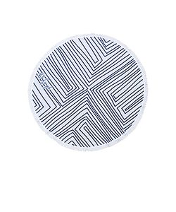 The Beach People | The Avalon Round Towel