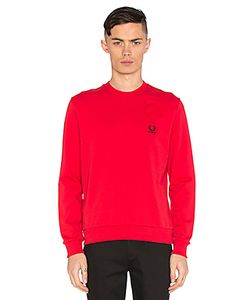 Raf Simons X Fred Perry | Denim Pocket Sweatshirt F Perry X Raf Simons