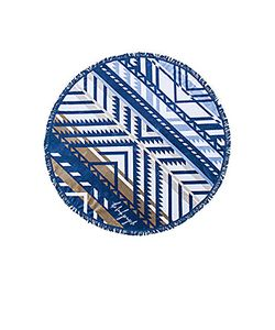 The Beach People   The Lorne Round Towel