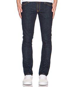 Nudie Jeans Co | Узкие Джинсы Темный Ополаскиватель Tight Long John Nudie Jeans