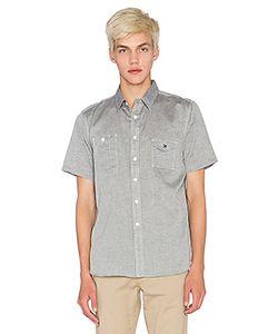 Huf | Рубашка Chambray Short Sleeve