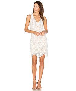 BARDOT | Кружевное Платье С Вышивкой