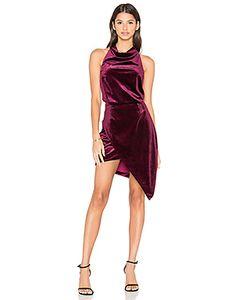 ELLIATT | X Revolve Velvet Camo Mini Dress