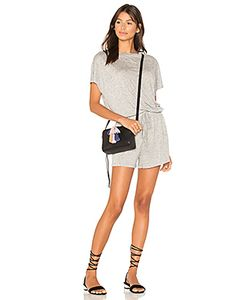 Minkpink | Square Textured Tee Playsuit