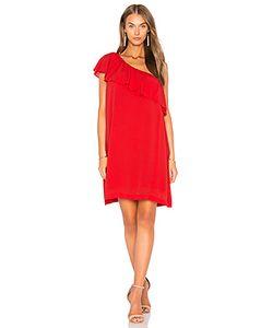 1. STATE | One Shoulder Ruffle Edge Dress