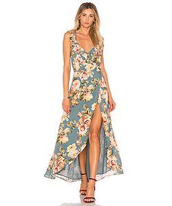 Privacy Please | Платье-Миди С Запахом И Цветочным Принтом Fillmore