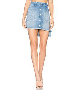 Bella Dahl | High Low Mini Skirt
