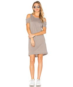 LA Made | Zadeth Cold Shoulder Tee Dress