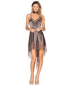 Michelle Mason | Платье С Кружевной Вставкой
