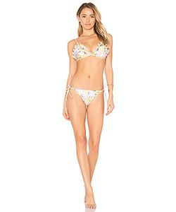 Zimmermann | Valour Embroide Frill Bikini Set