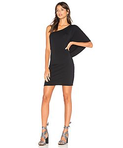 Bobi | Drape One Shoulder Mini Dress