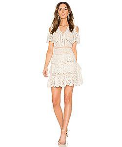 Rebecca Taylor | Кружевное Платье С Открытыми Плечами Eliza