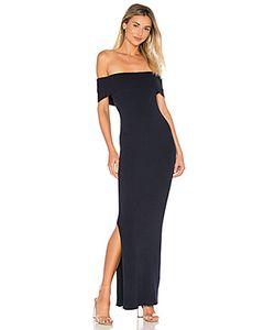 525 America   Макси Платье С Открытыми Плечами