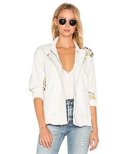 Hudson Jeans | Varsity Embroidered Jacket