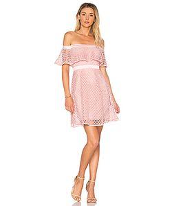 BARDOT | Кружевное Платье С Открытыми Плечами
