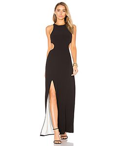 Halston Heritage | Sleeveless Cut Out Gown
