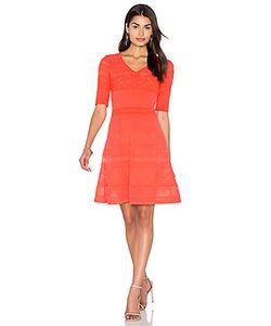Missoni | Облегающее Платье С Юбкой-Солнцеклёш И Рукавом 3/4 M