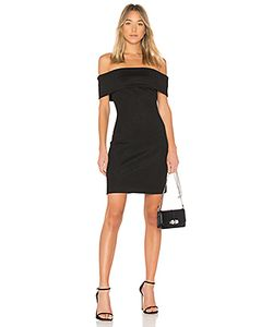 Halston Heritage | Блестящее Платье Off Shoulder