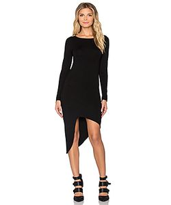 Indah | Salju Long Sleeve Sexy Dress