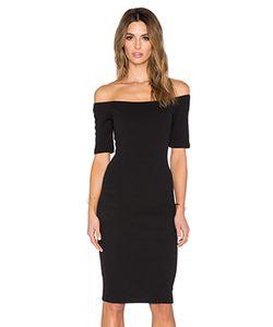T-Bags LosAngeles | Облегающее Платье С Открытыми Плечами