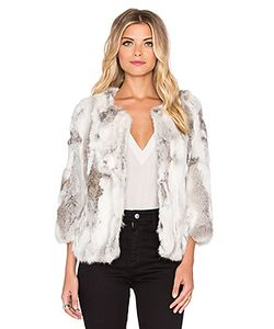Arielle | Пальто Из Меха Кролика