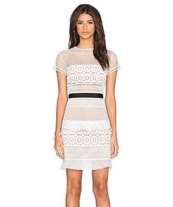 SELF-PORTRAIT | Кружевное Мини-Платье Oblique