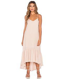 Lucca Couture | Платье До Лодыжек С Оборкой