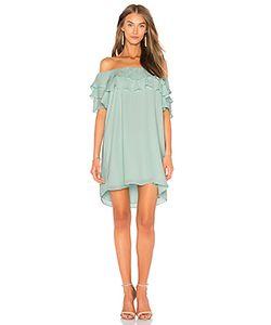 krisa | Платье С Открытыми Плечами И Рюшами