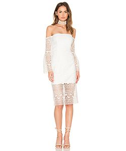 BARDOT | Geo Lace Dress
