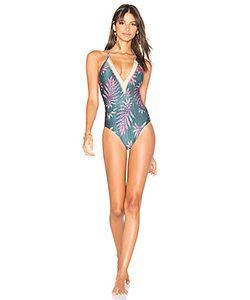 Vix Swimwear | Leaves Jute One Piece