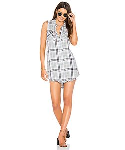 Bella Dahl | Frayed Hem Hipster Dress