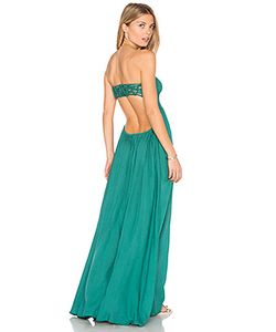Tiare Hawaii | Платье Макси Без Бретелей Kai