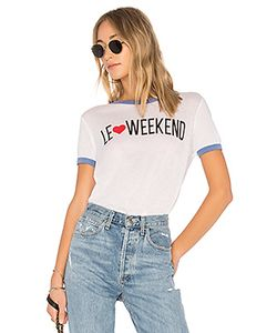 Wildfox Couture | Футболка Le Weekend