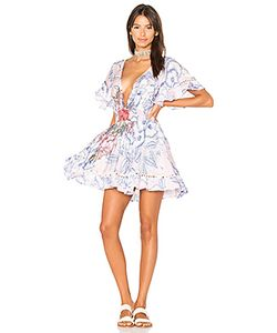 Minkpink | Расклешенное Платье Tropical Punch