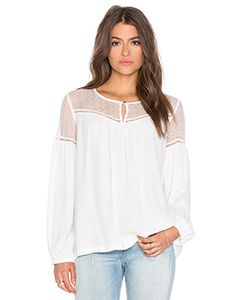 IKKS Paris | Sheer Yoke Blouse