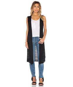 Line | Stephanie Long Hooded Vest
