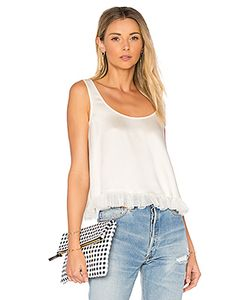 Elizabeth And James | Andrea Cropped Ruffle Top