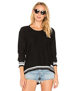 Wilt | Big Backslant Rib Mix Trim Sweatshirt