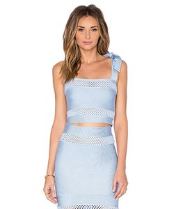 LOLITTA | Mesh Cutout Crop Top